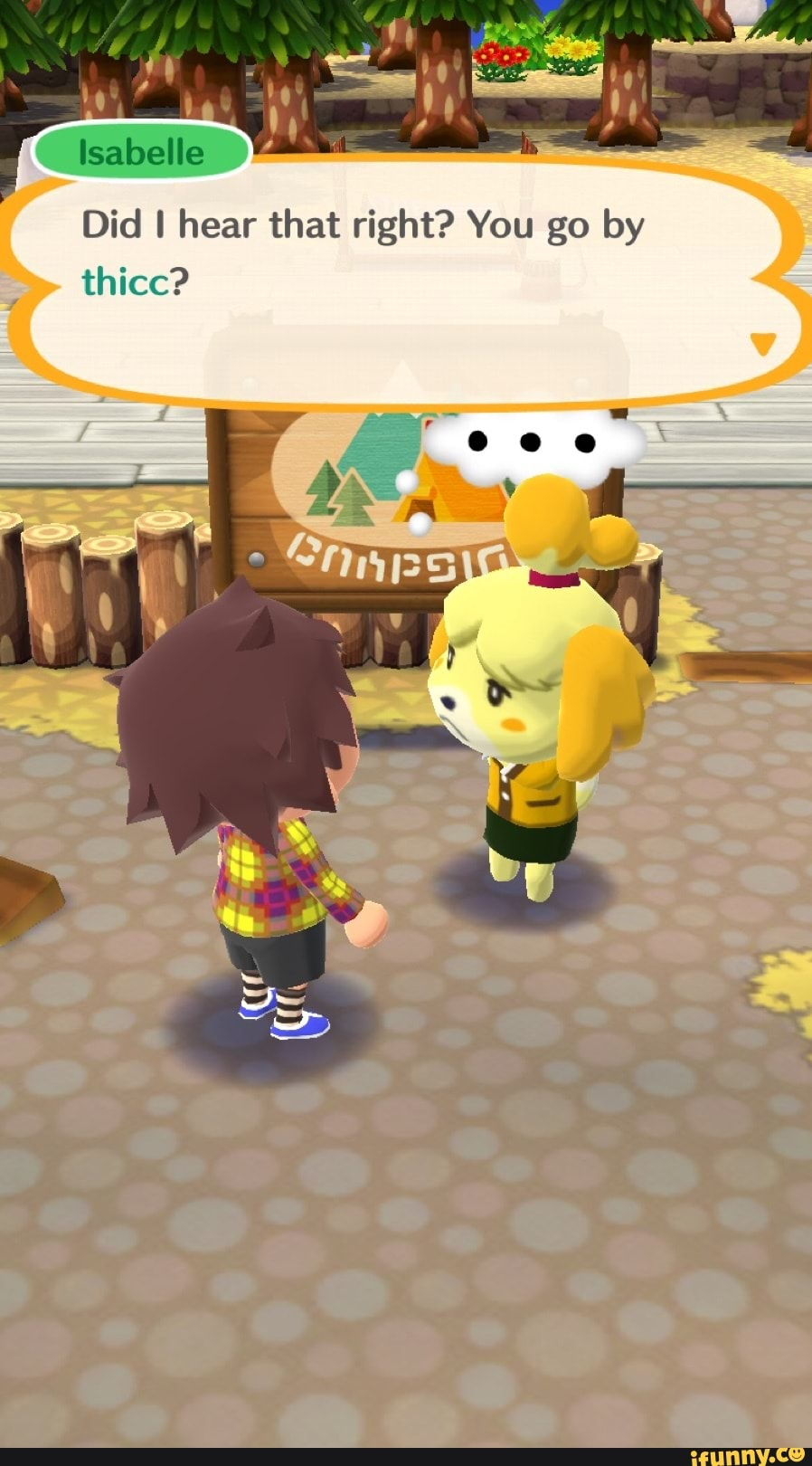 Animal Crossing Isabelle Porn I'll Do My Best did i hear that right? you gothicc? - ifunny :)