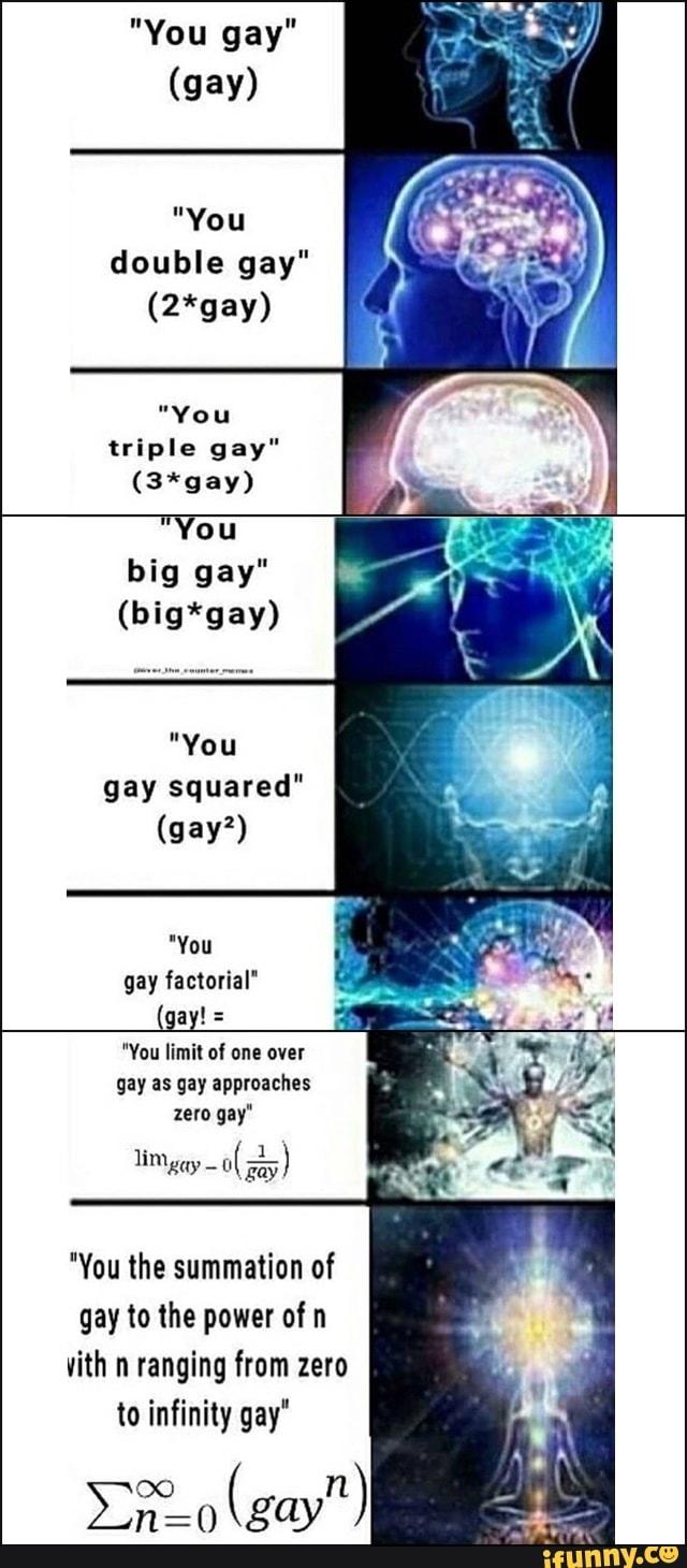You gªy   (gay)