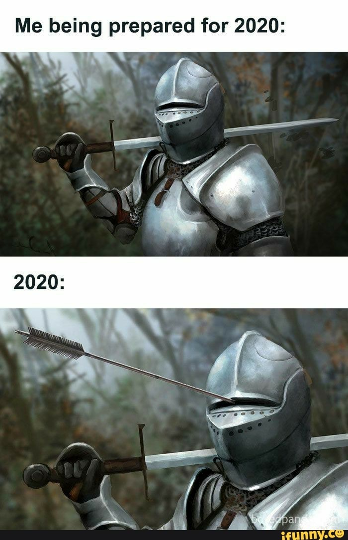 Me being prepared for 2020: - iFunny :)
