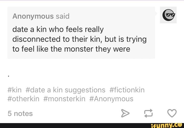 Fictionkin dating
