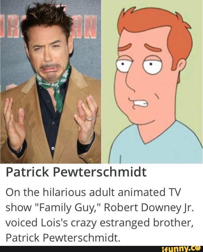 family guy patrick pewterschmidt
