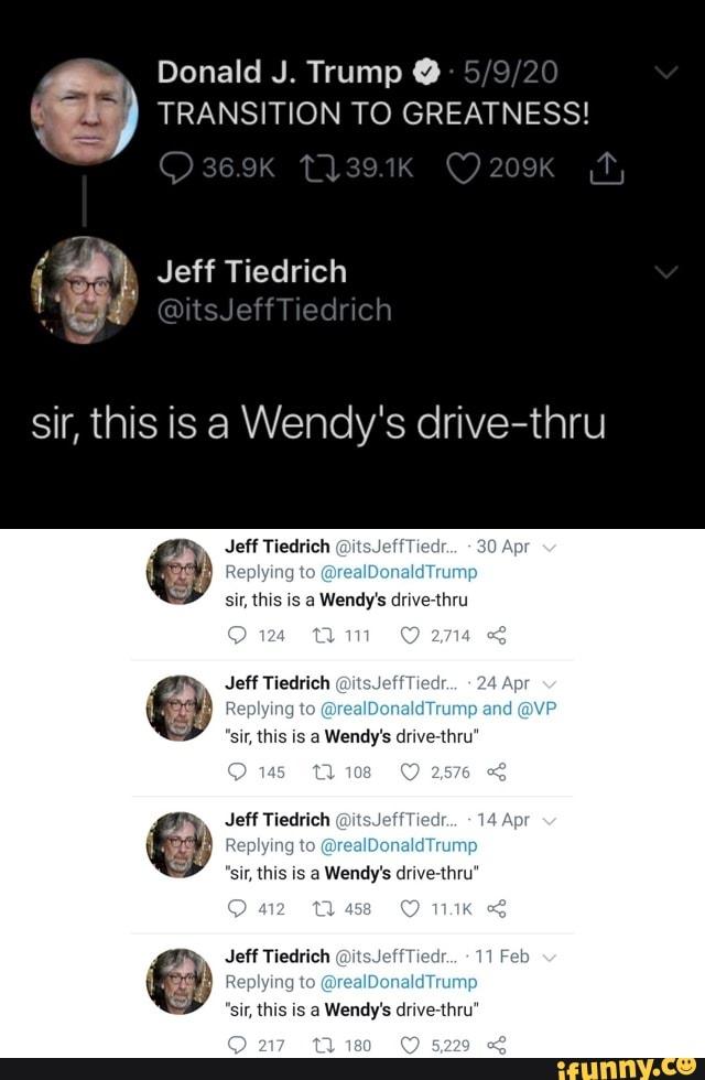 Trump TRANSITION TO GREATNESS! Jeff Tiedrich @itsJeffT ...