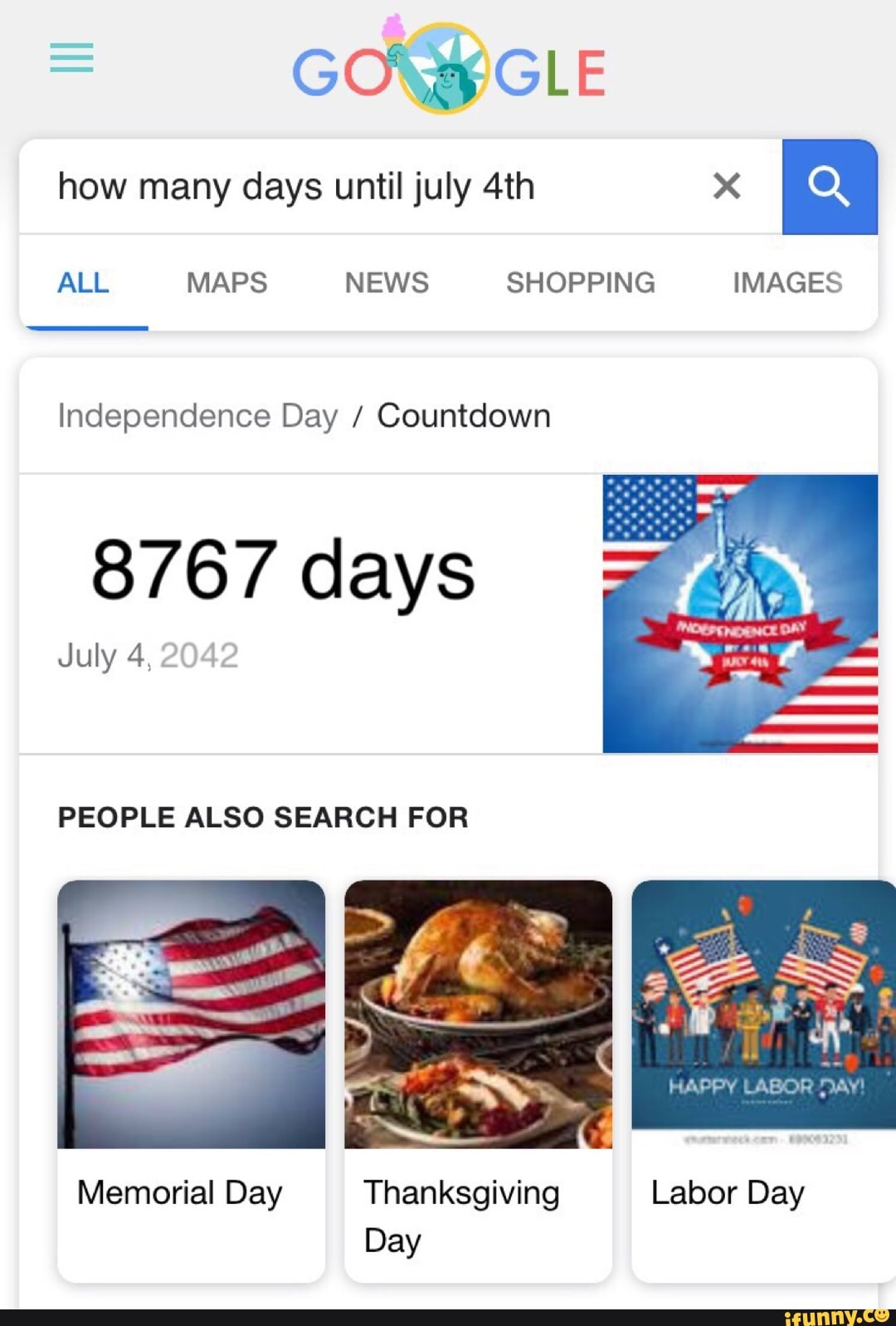 How Many Days Until July 4th X ª All Maps News Shopping Images