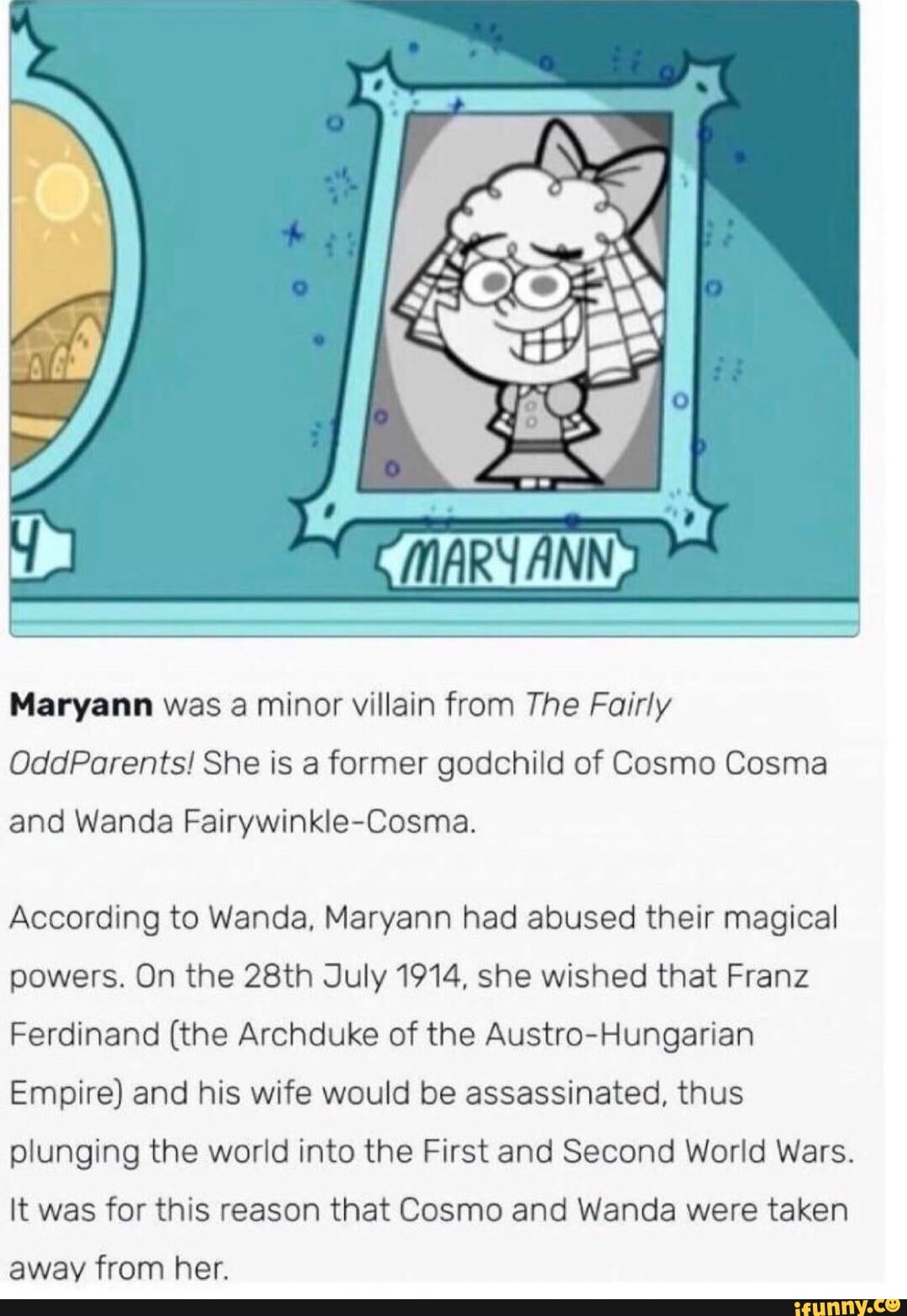 Fairly Odd Parents Pornhub maryann was a minor viliain from the fairly oddparents! she