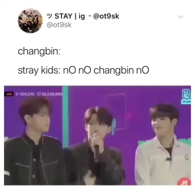stray kids: nO nO changbin nO