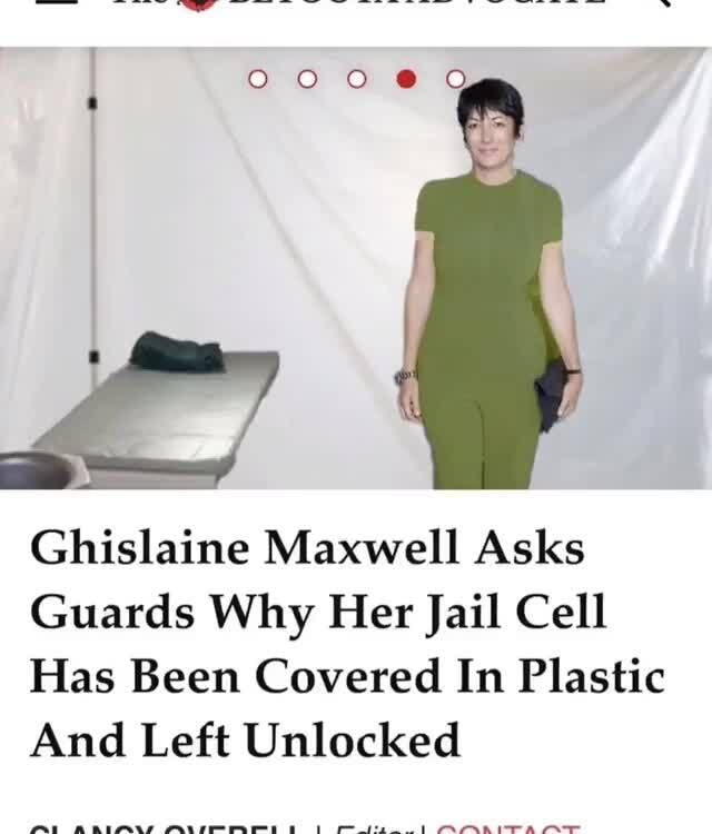 #sextrafficking | Ghislaine Maxwell wont be moved to