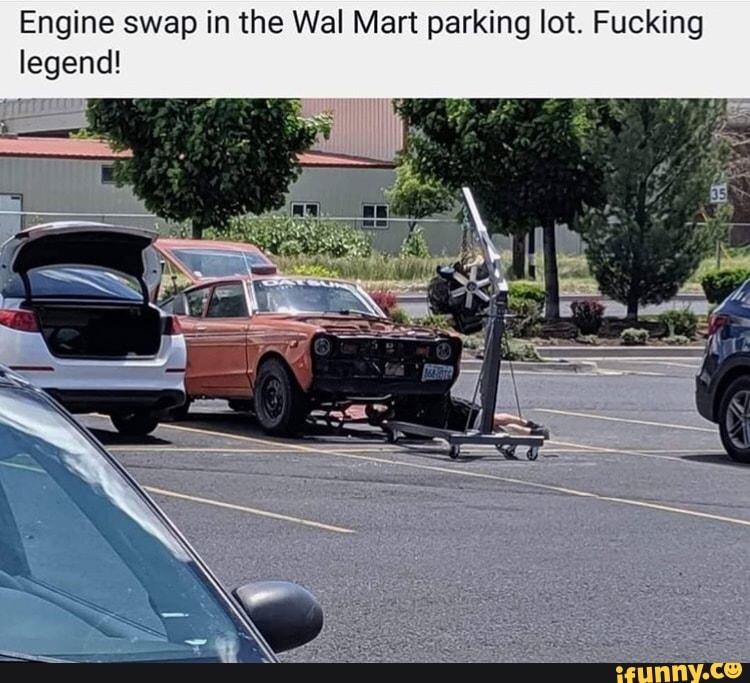 Ebony Masturbating Parking Lot