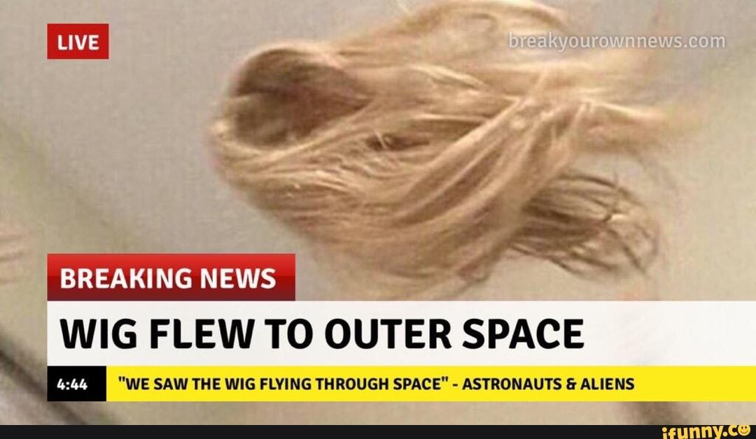 Risultati immagini per wig flew to outer space