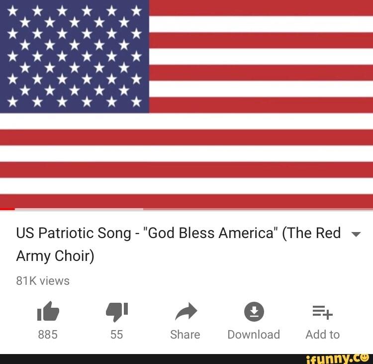 US Patriotic Song -
