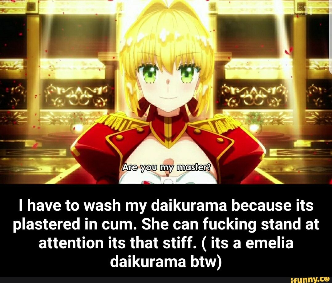 I Have To Wash My Daikurama Because Its Plastered In Cum She Can