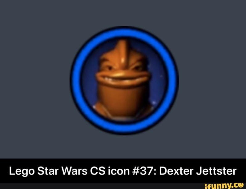 Lego Star Wars Cs Icon 37 Dexter Jettster Lego Star Wars Cs