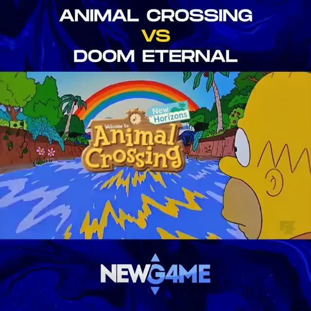 Animal Crossing Vs Doom Eternal Ifunny