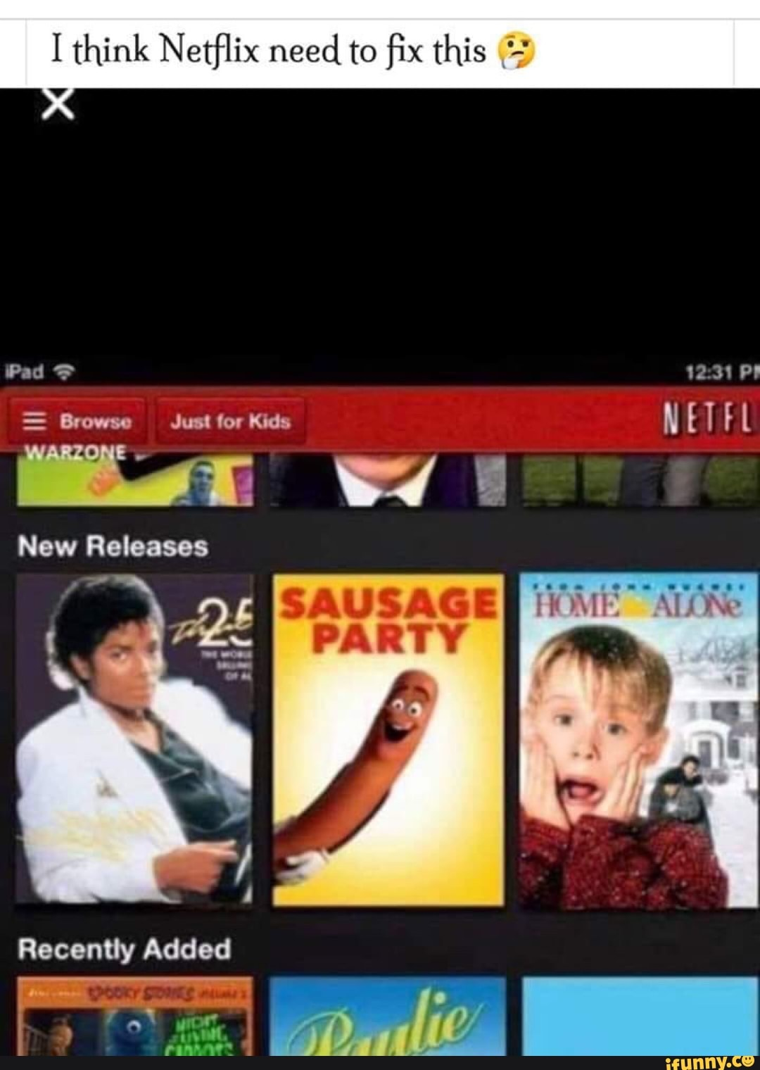 I think Netflix need to fix this _'-' - iFunny :)