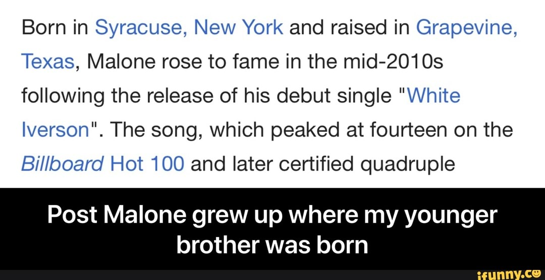 Born in Syracuse, New York and raised in Grapevine, Texas