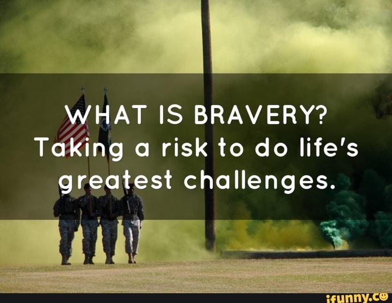 bravery essay