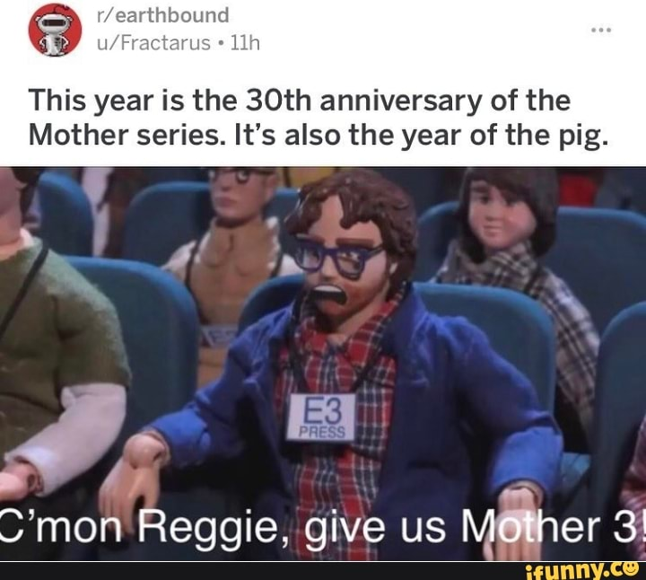 This year is the 30th anniversary of the Mother series  It's