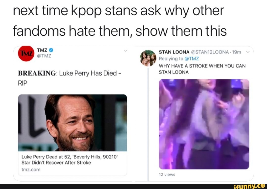 Next Time Kpop Stans Ask Why Other Fandoms Hate Them Show Them