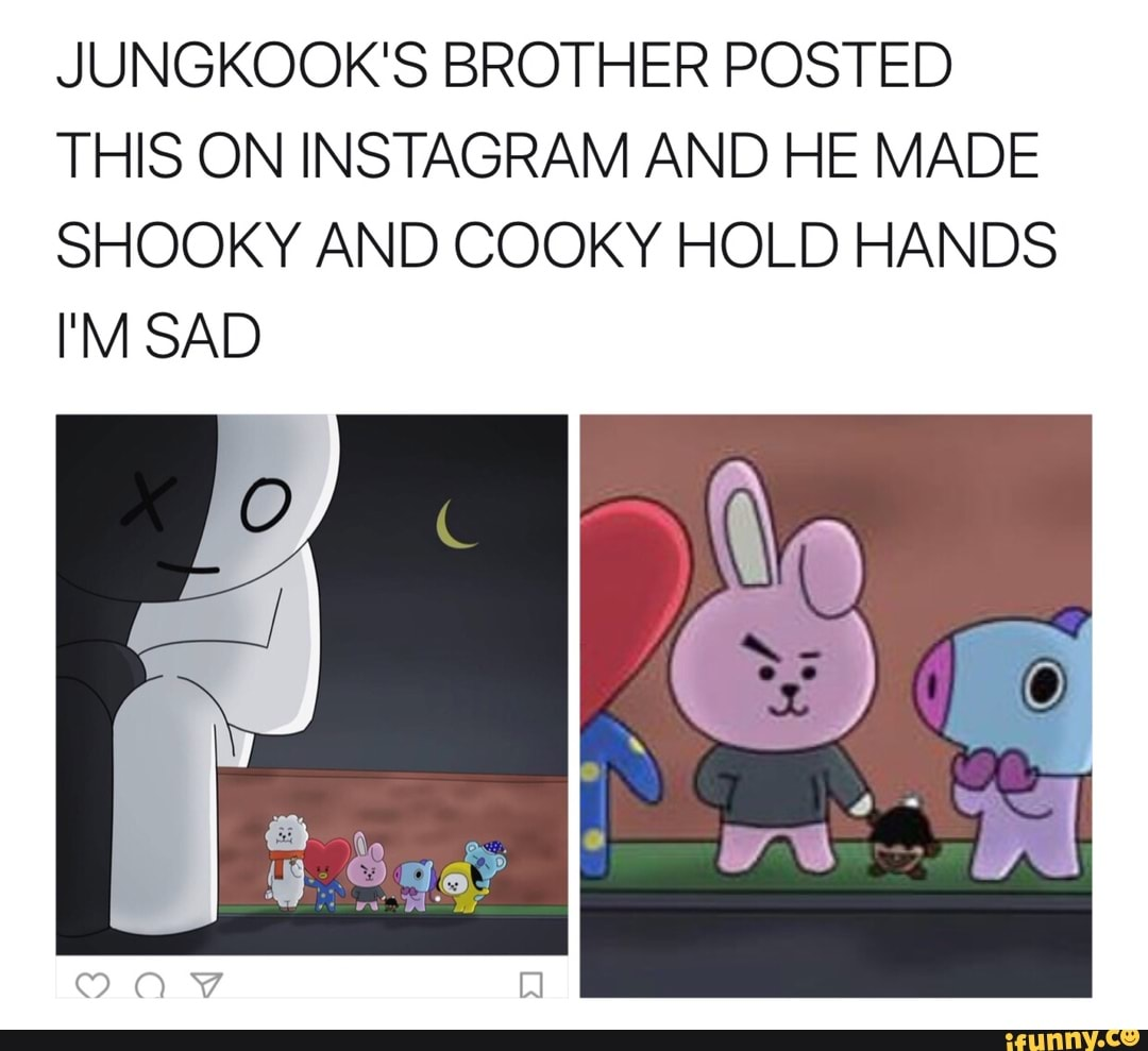 JUNGKOOK'S BROTHER POSTED THIS ON INSTAGRAM AND HE MADE