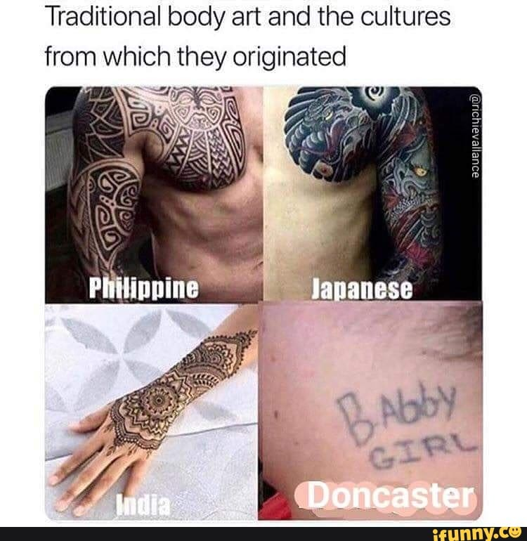 Traditional Body Art And The Cultures From Which They Originated Ifunny