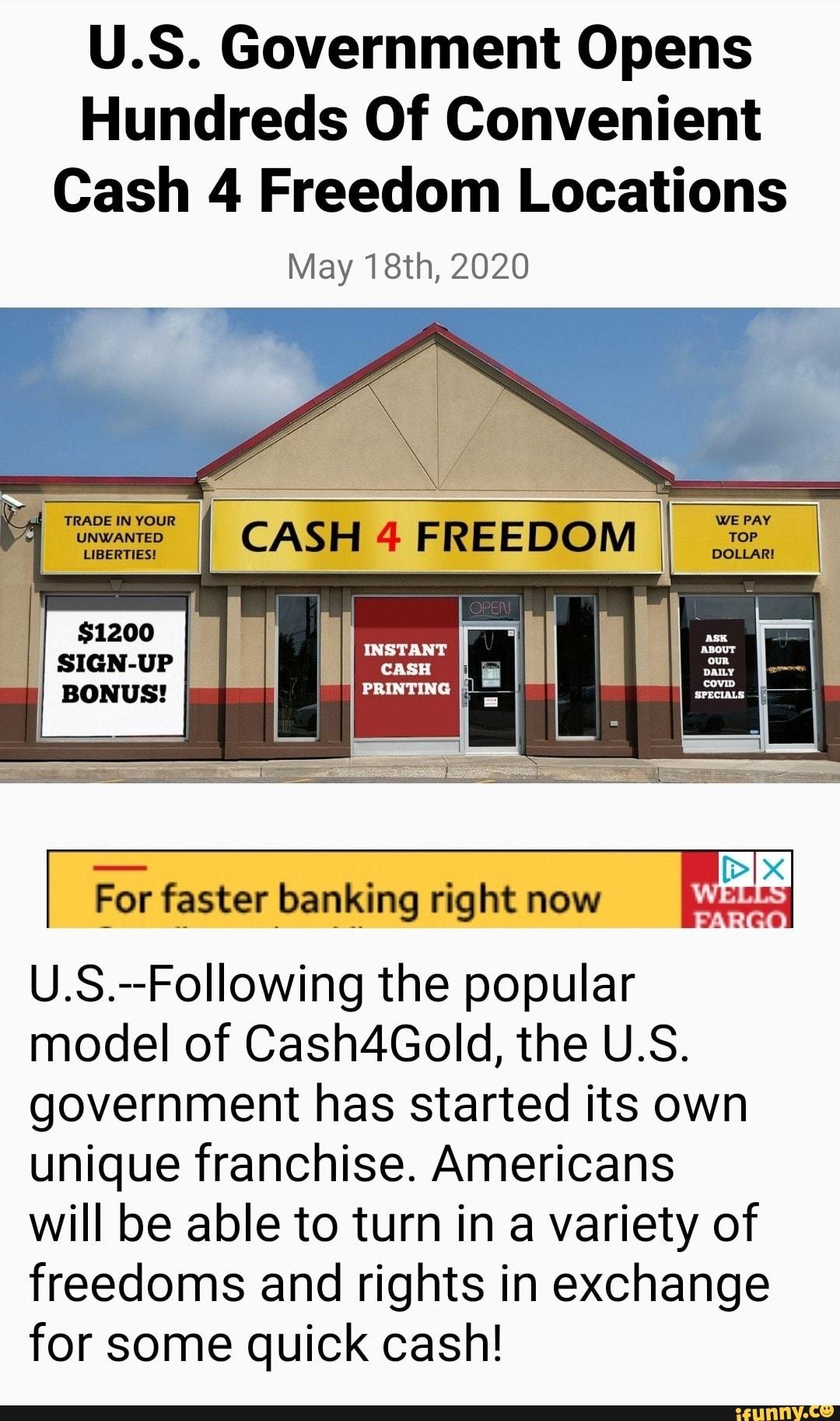 U Cash Locations