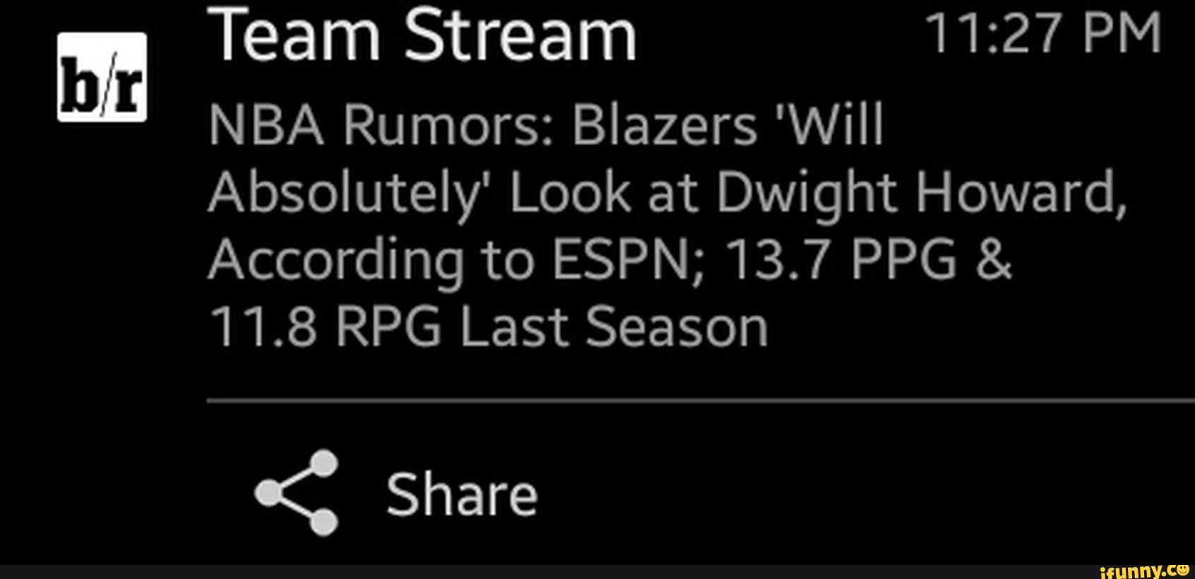 ª NBA Rumors: Blazers 'Will Absolutely' Look at Dwight