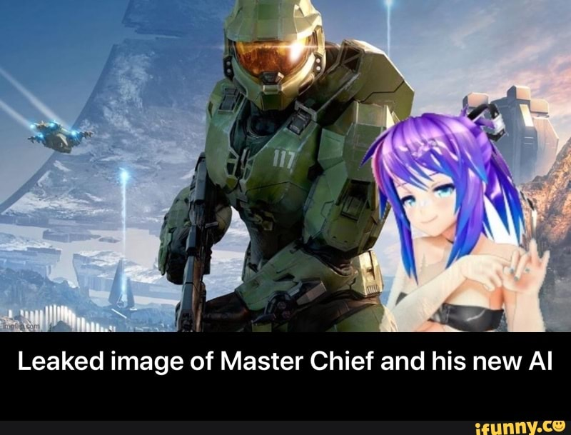 Leaked image of Master Chief and his new Al - Leaked image ...