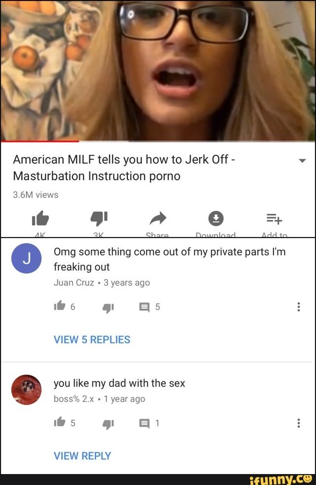 Jerk Off Instructions Mom