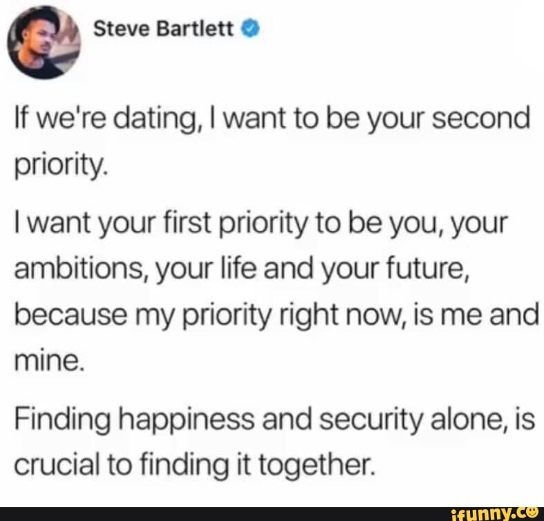 If we are dating