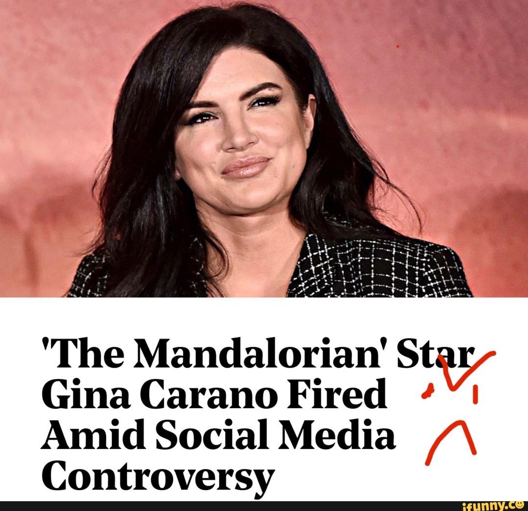 The Mandalorian' Star Gina Carano Fired Amid Social Media ...