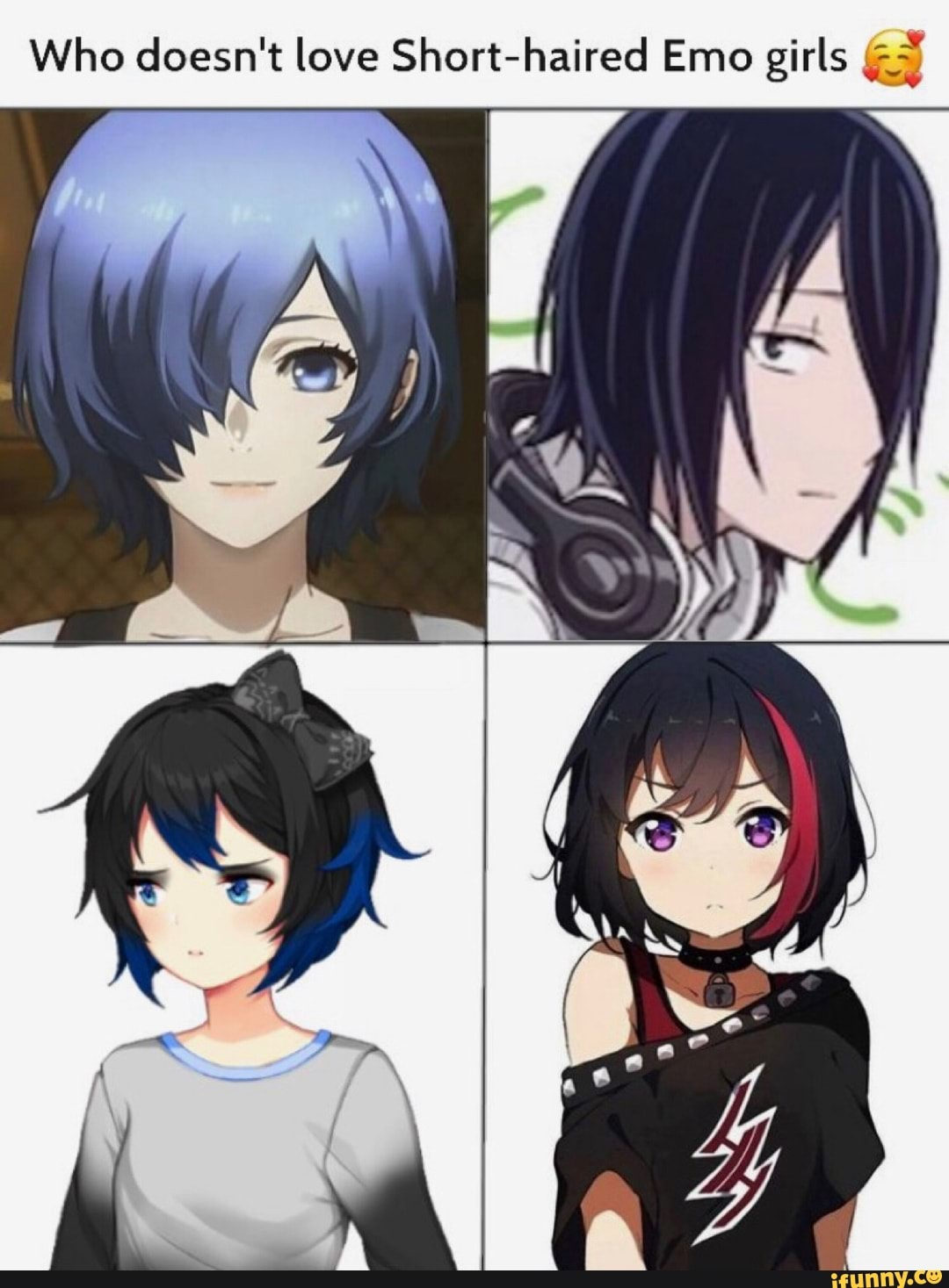 Who Doesn T Love Short Haired Emo Girls A Ifunny
