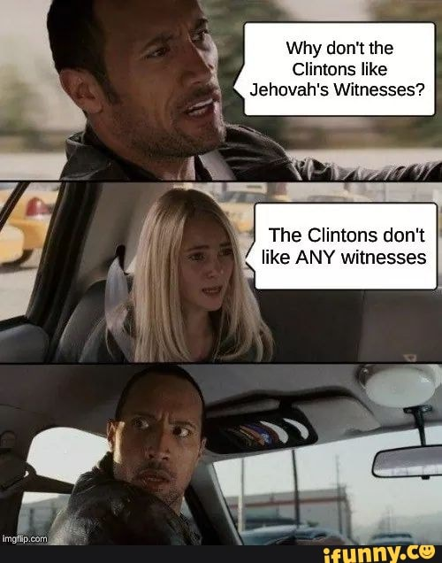 Why don't the Clintons like Jehovah's Witnesses? The ...