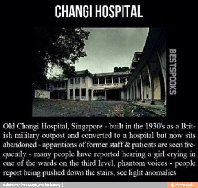 CHANG! HOSPITAL At ES Old Changi Hospital, Singapore Built