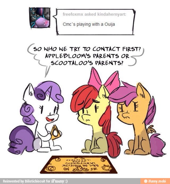 Appleblooms Parents Or So Who We Try To Contact First U Scootaloo S Parents Ifunny This theory proposes who scootaloo's parents may be. u scootaloo s parents ifunny