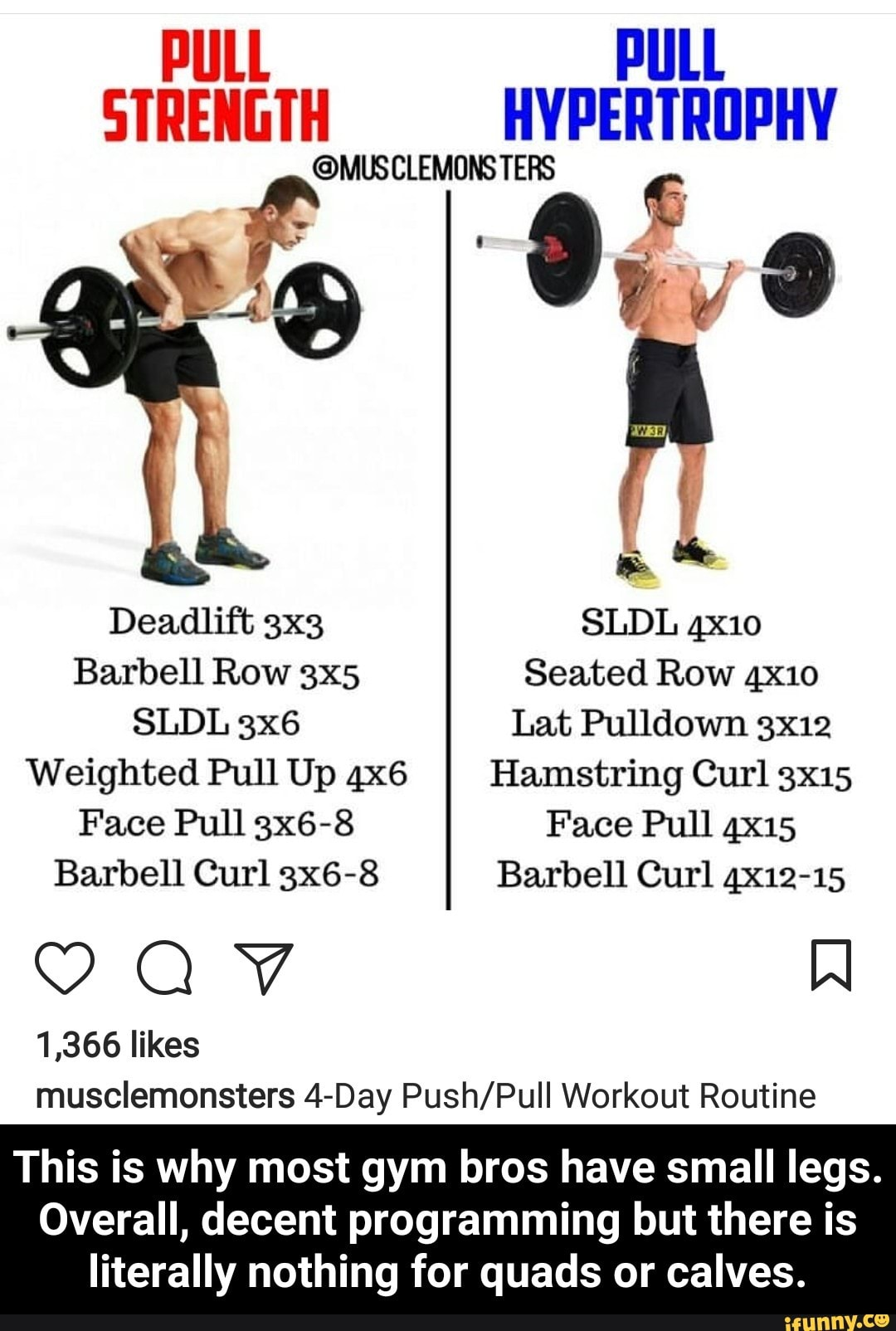 SLDL 3x6 Lat Pulldown 3x12 Weighted Pull Up 4X6 Hamstring