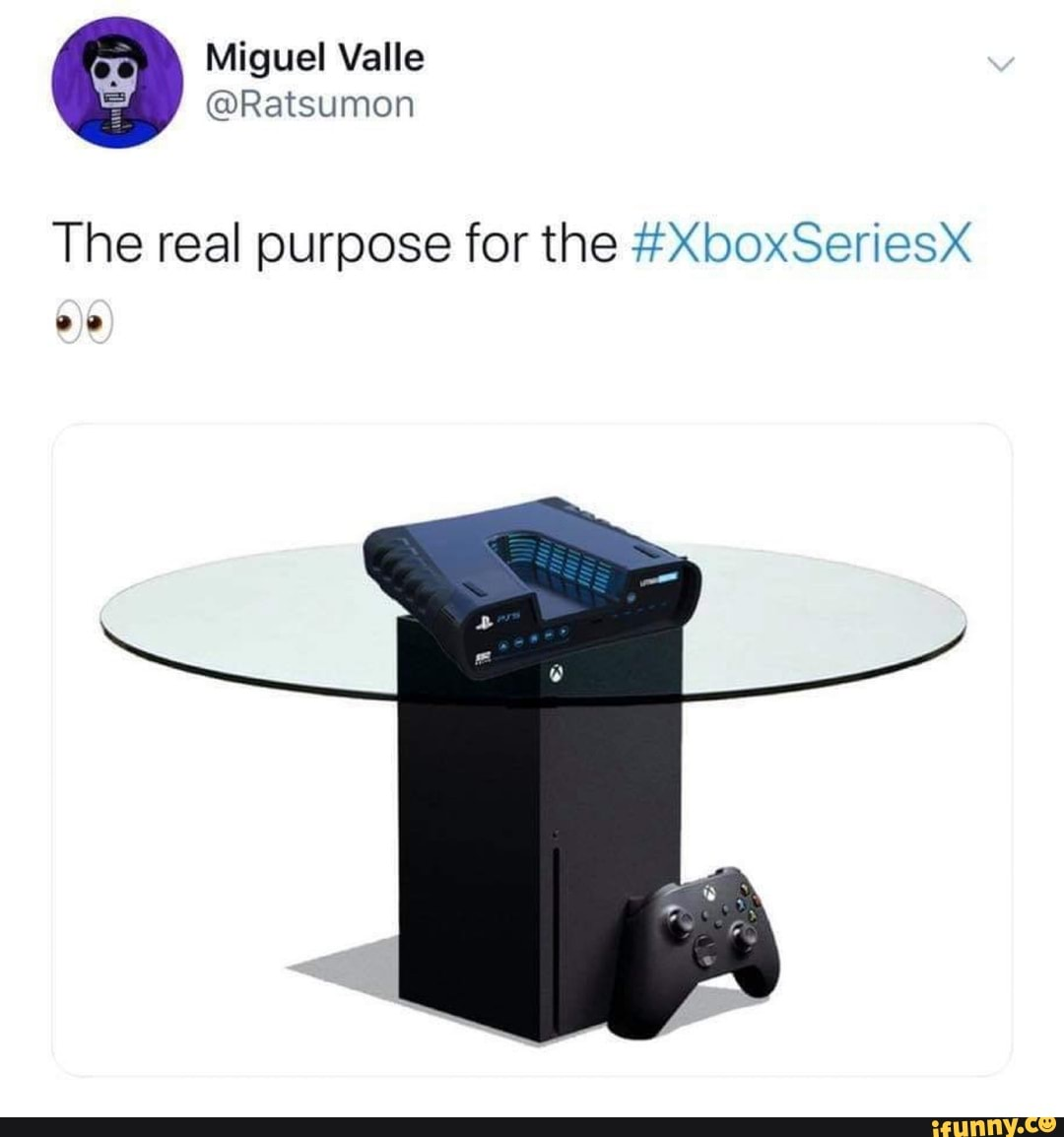 The Real Purpose For The Xboxseriesx Ifunny