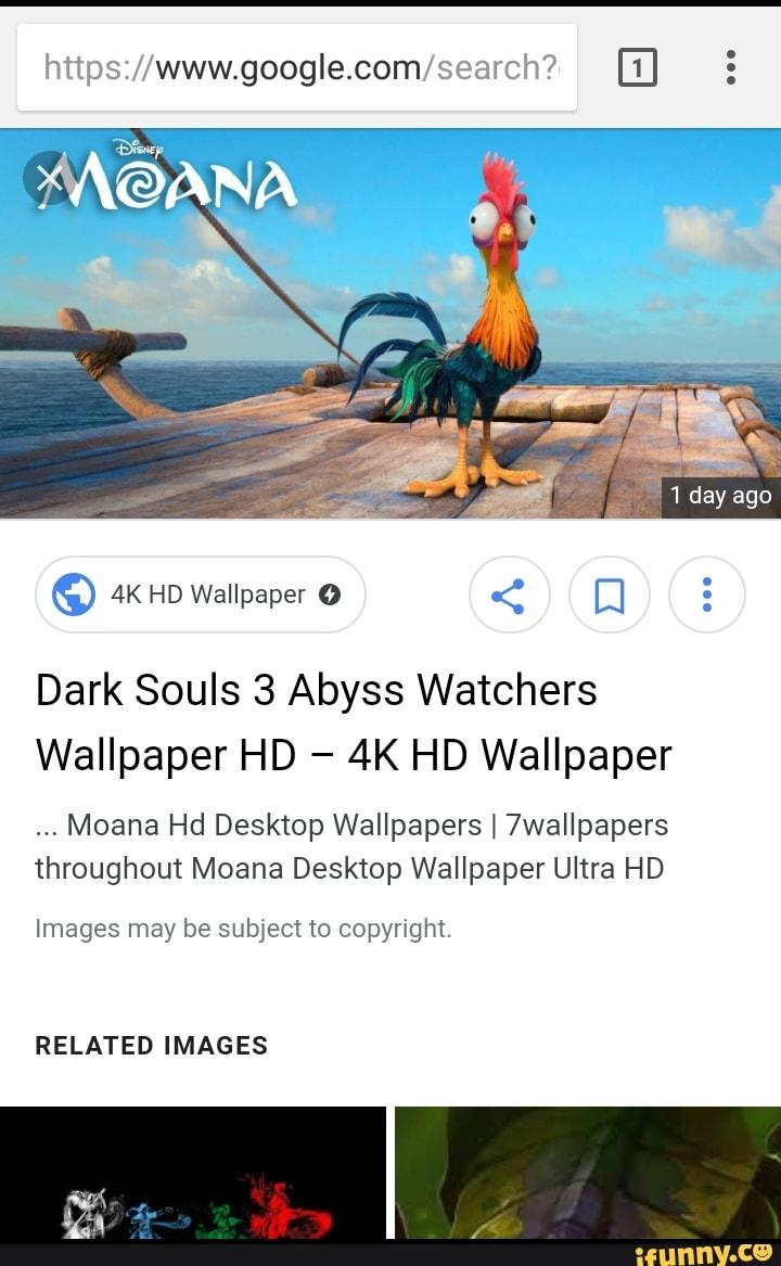 Dark Souls 3 Abyss Watchers Wallpaper Hd 4k Hd Wallpaper Moana
