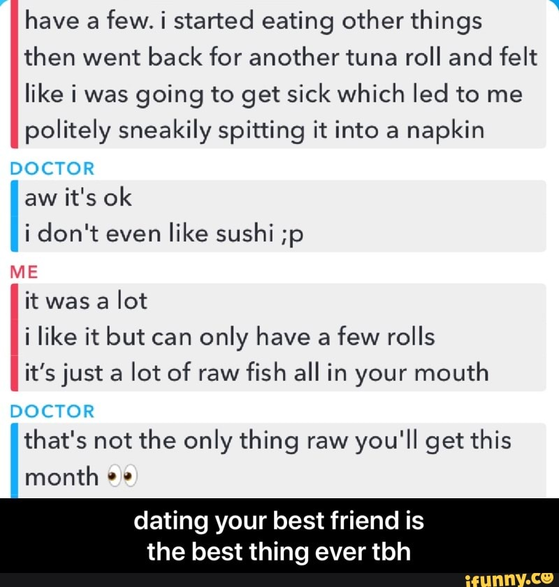 how to deal with dating your best friend