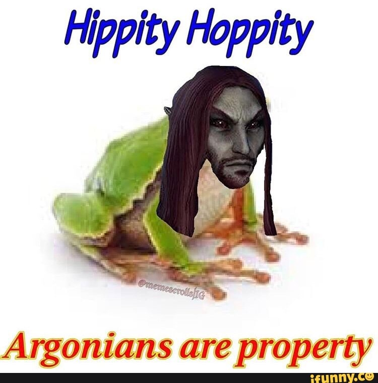 Argonians Are Property