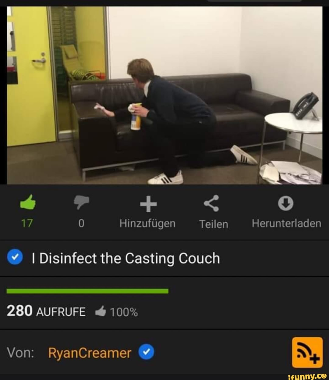Black Room Casting Couch