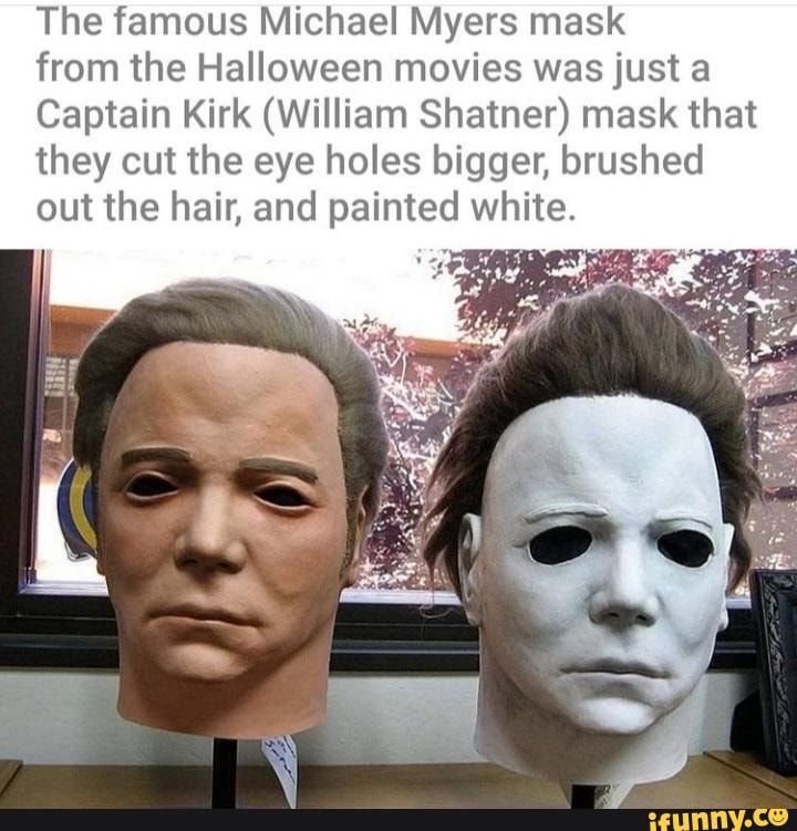 Captain Myers - The famous Michael Myers mask from the Halloween movies ...