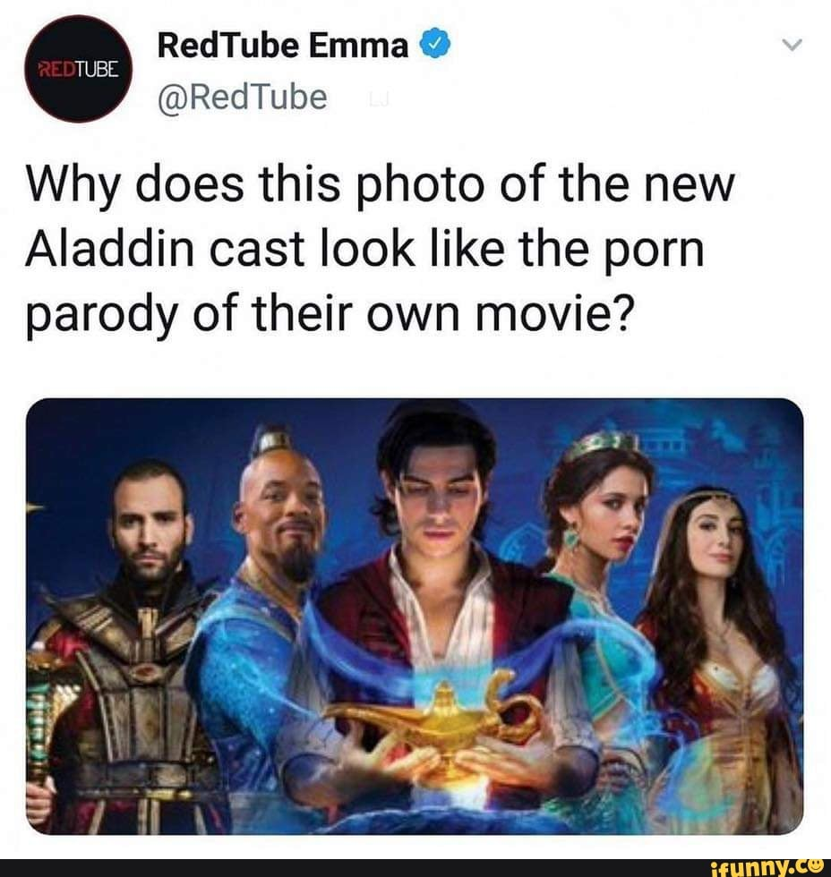 New Porn Parody why does this photo of the new aladdin cast look like the