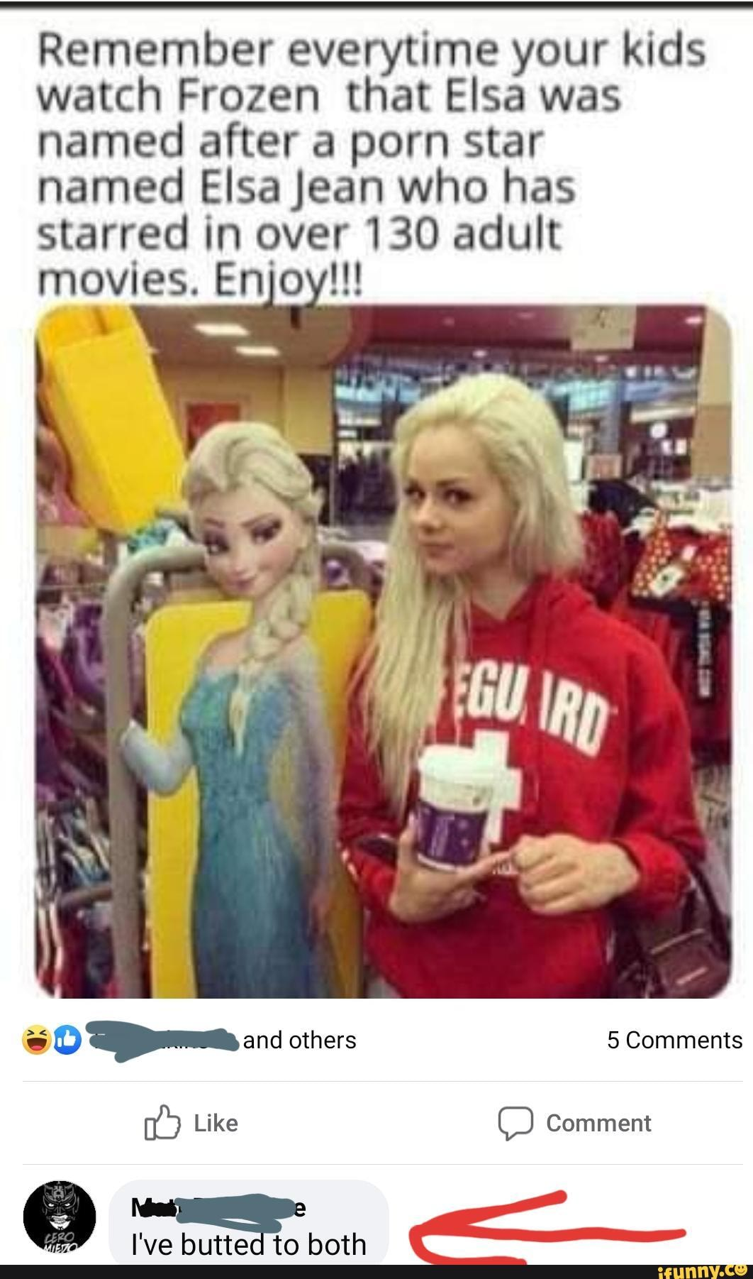 Adult Porn Memes remember everytime your kids watch frozen that elsa was