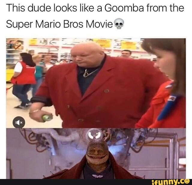 super mario bros movie goomba