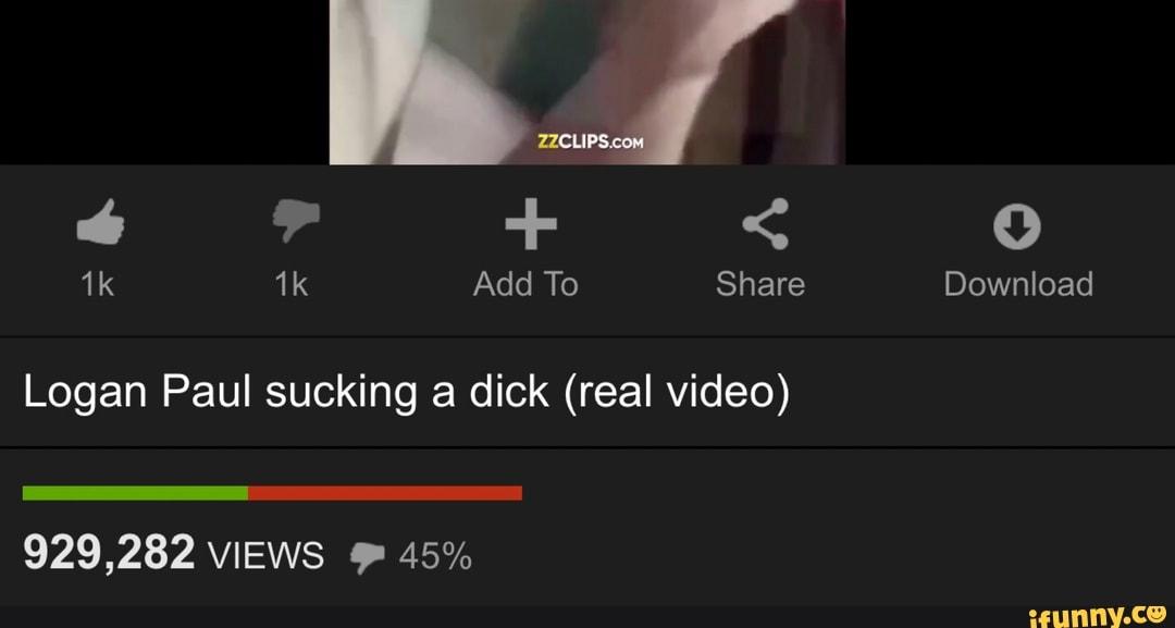 Logan Paul Suck Dick