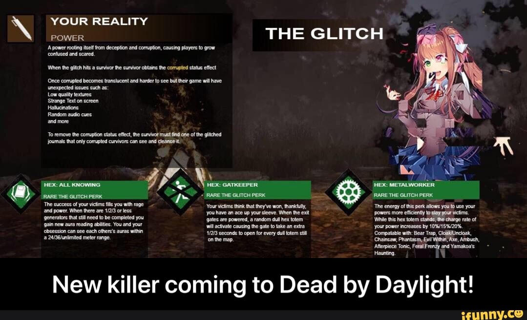 New killer coming to Dead by Daylight! - iFunny :)