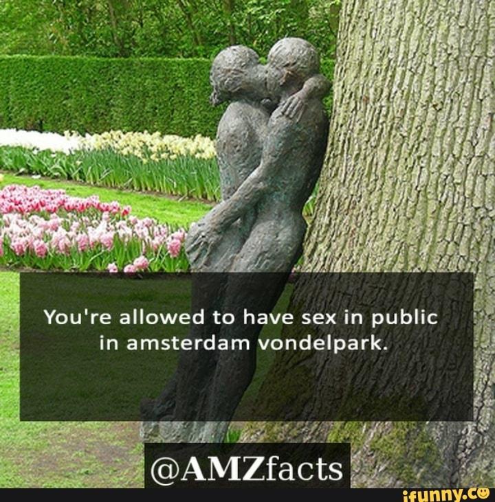 Amsterdam Vondelpark Sex