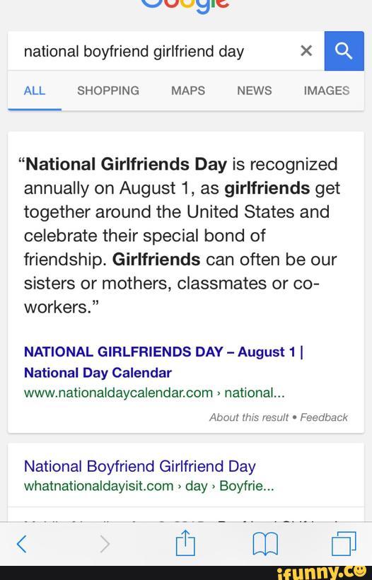 National boyfriend girlfriend day X a ALL SHOPPING MAPS NEWS