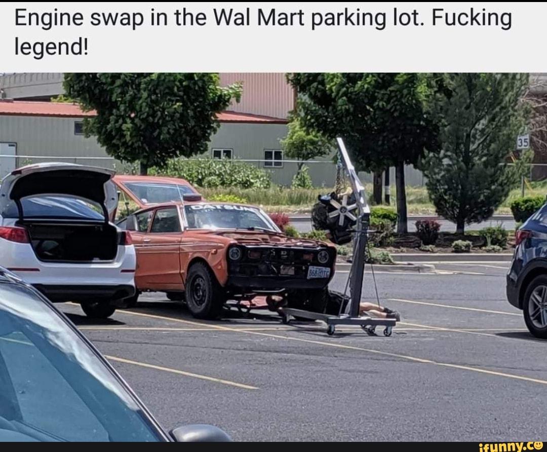 Walmart Parking Lot Blowjob