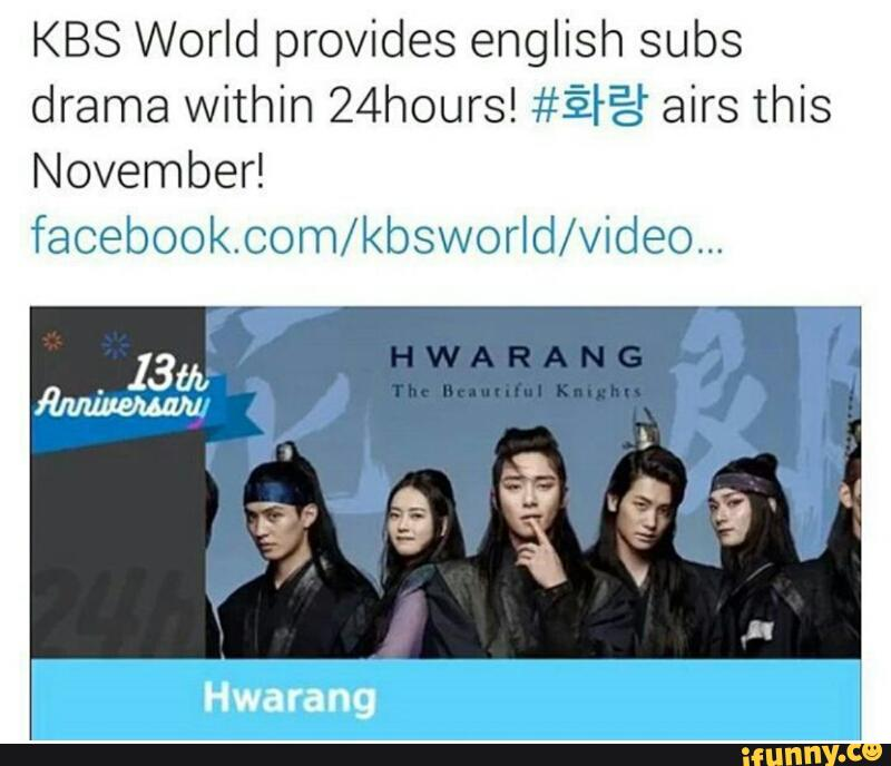 KBS World provides english subs drama within 24hours! #ªªá