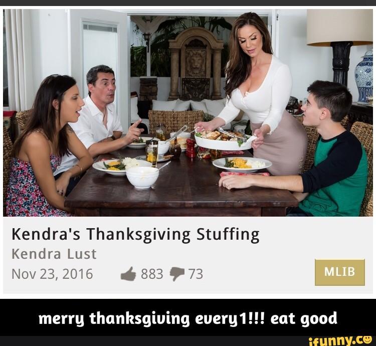 Thanksgiving is a weird
